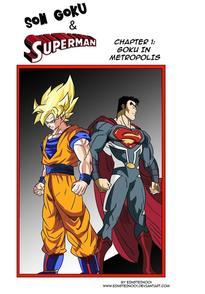 Son Goku And Superman 1 The Clash